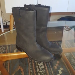 New Cole Haan Waterproof Shearling Boots